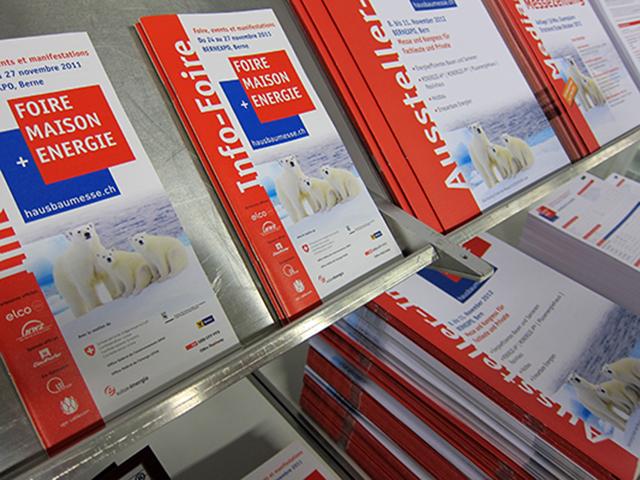 640 Messe Broschüren