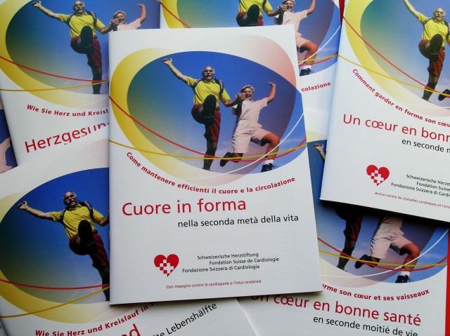 Herzstiftung Broschüre