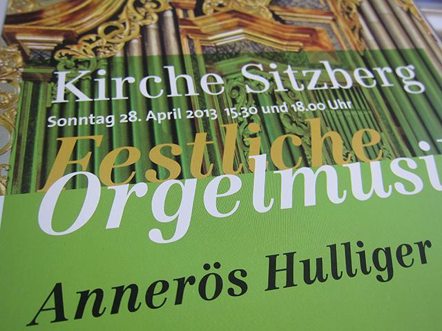 Orgel grün