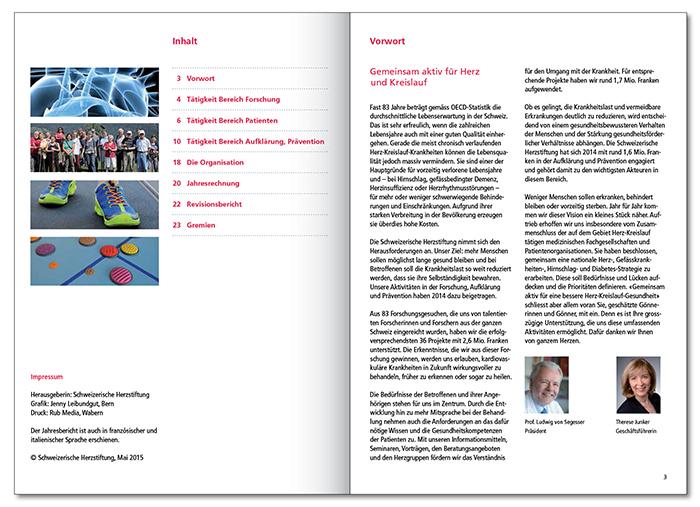 Herz Jahresbericht 20142