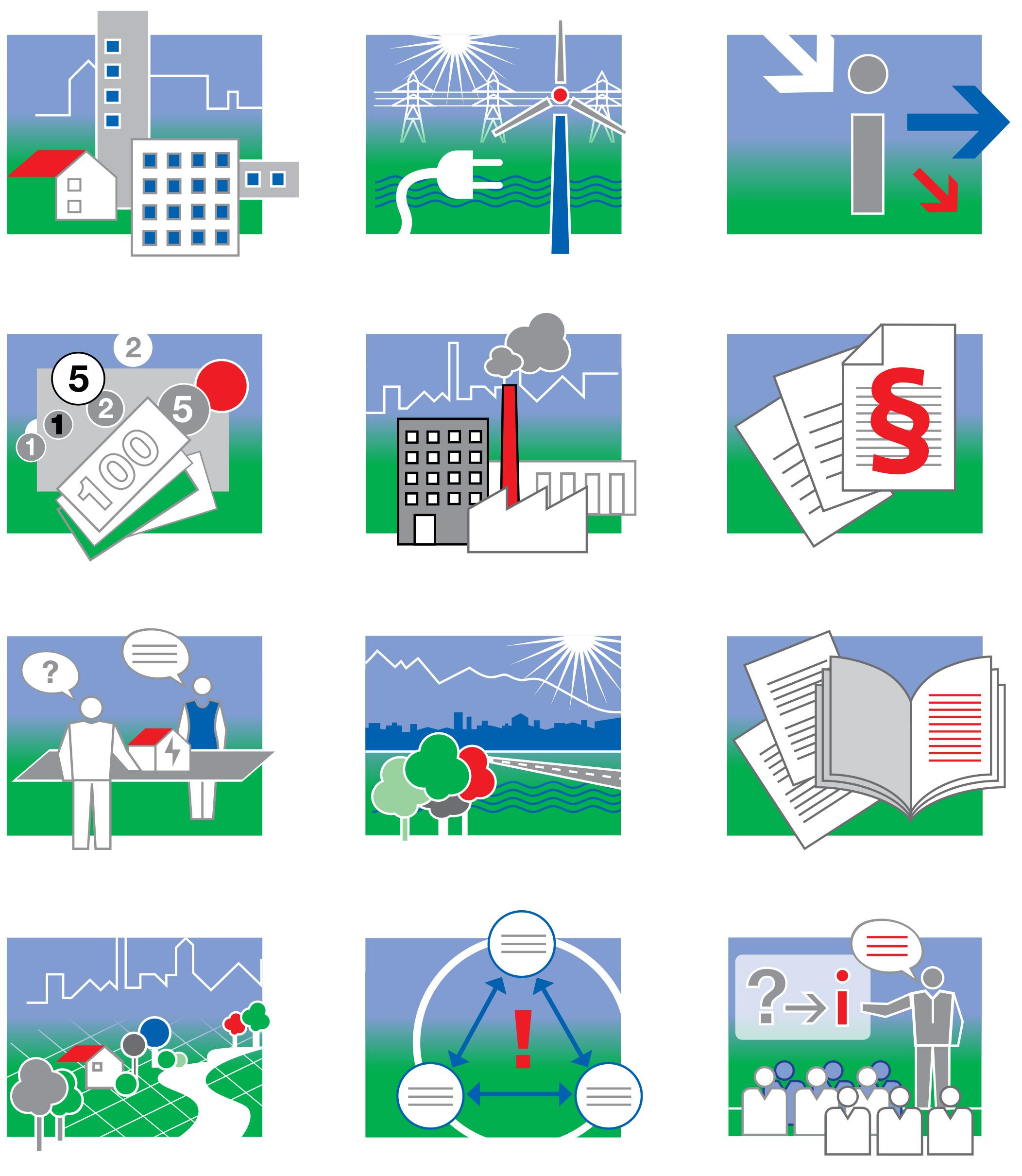 AUE-News-Übersicht-Icons